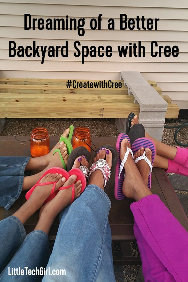 Dreaming of a Better Backyard Space with Cree