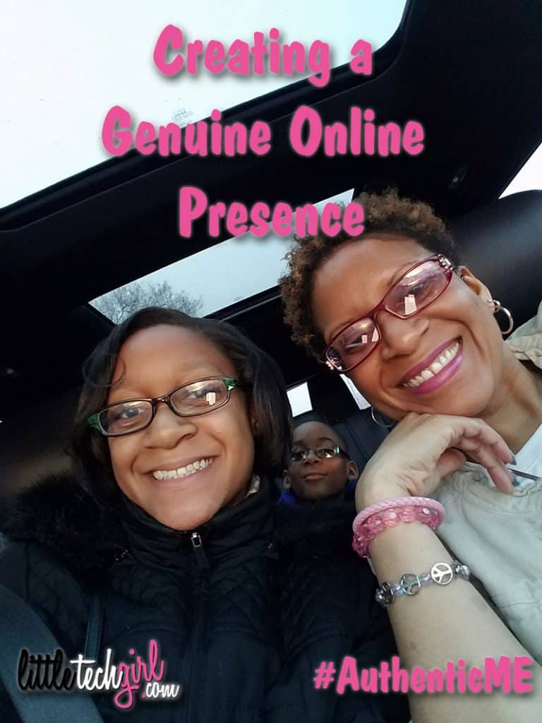 Creating a genuine online presence
