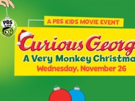 """Curious George's """"A Very Monkey Christmas"""" is Coming to PBS KIDS"""