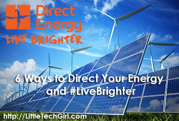 6 Ways to Direct Your Home Energy and #LiveBrighter