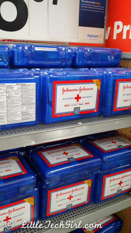 I was sure to grab a first aid kit