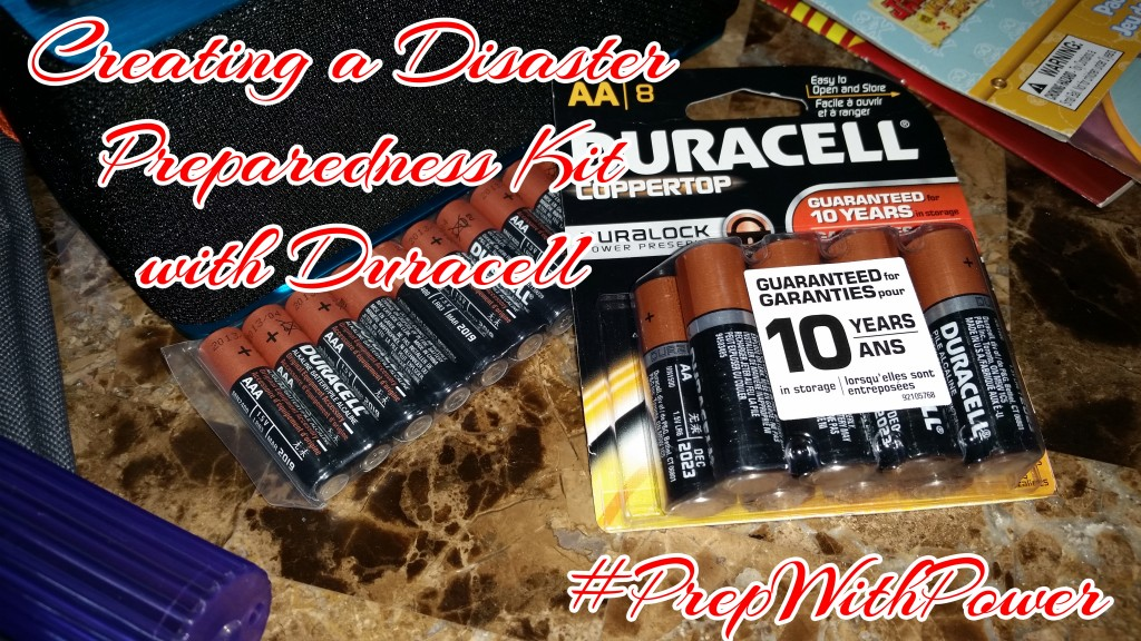 Keep Kids Busy and Calm During a Natural Disaster Watch with Duracell