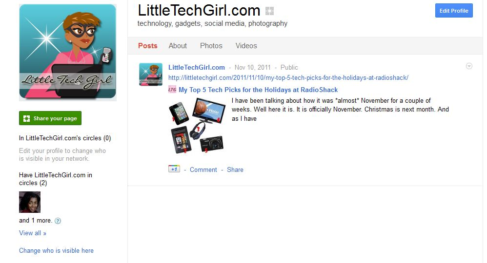 Have You Setup a Google Plus Page for Your Blog? I Did.