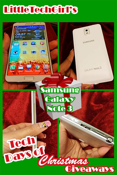 Tech Days of Christmas Giveaways: Samsung Galaxy Note 3 with Review