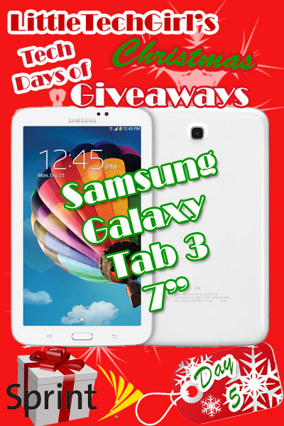 Tech Days of Christmas Giveways: Samsung Galaxy Tab 3 from Sprint