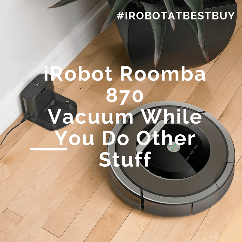 iRobot Roomba 870 – Vacuum While You Do Other Stuff