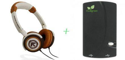 12 Days of Giveaways: #7 iGo Charge Anywhere + Aerial7 Phoenix Headphones