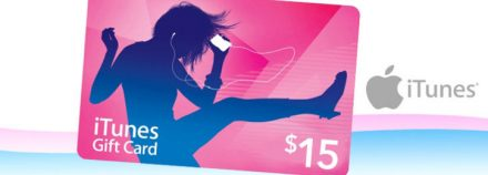 $7.50 for a $15 iTunes Gift Card