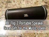 JBL Flip 2 Portable Speaker – Great Gift for the Music Lover w/ Giveaway