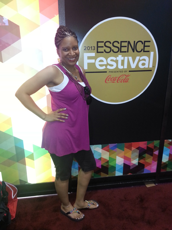 Kris Cain at Essence Fest 2013