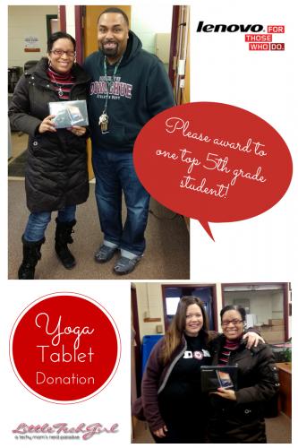 lenovo tablet donation