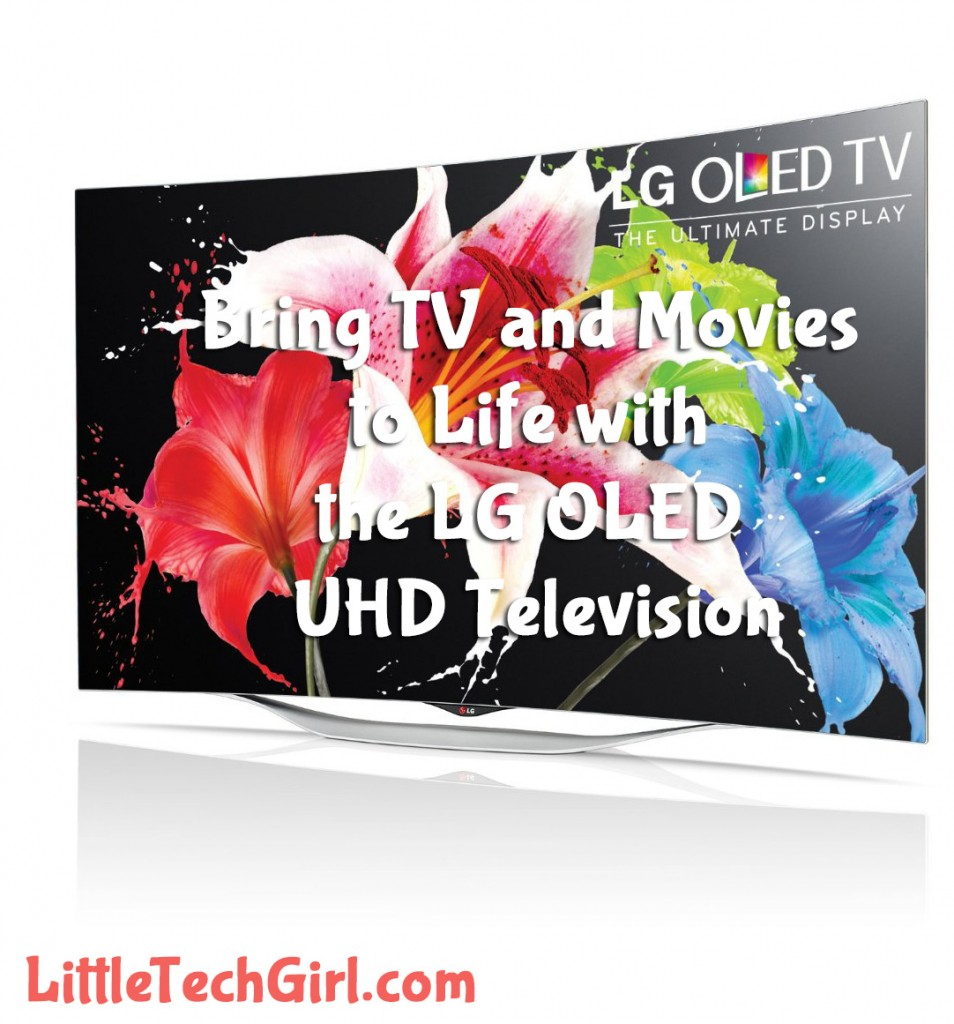Bring TV and Movies to Life with the LG OLED UHD Television