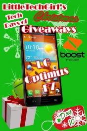 Tech Days of Christmas Giveaways: LG Optimus F7