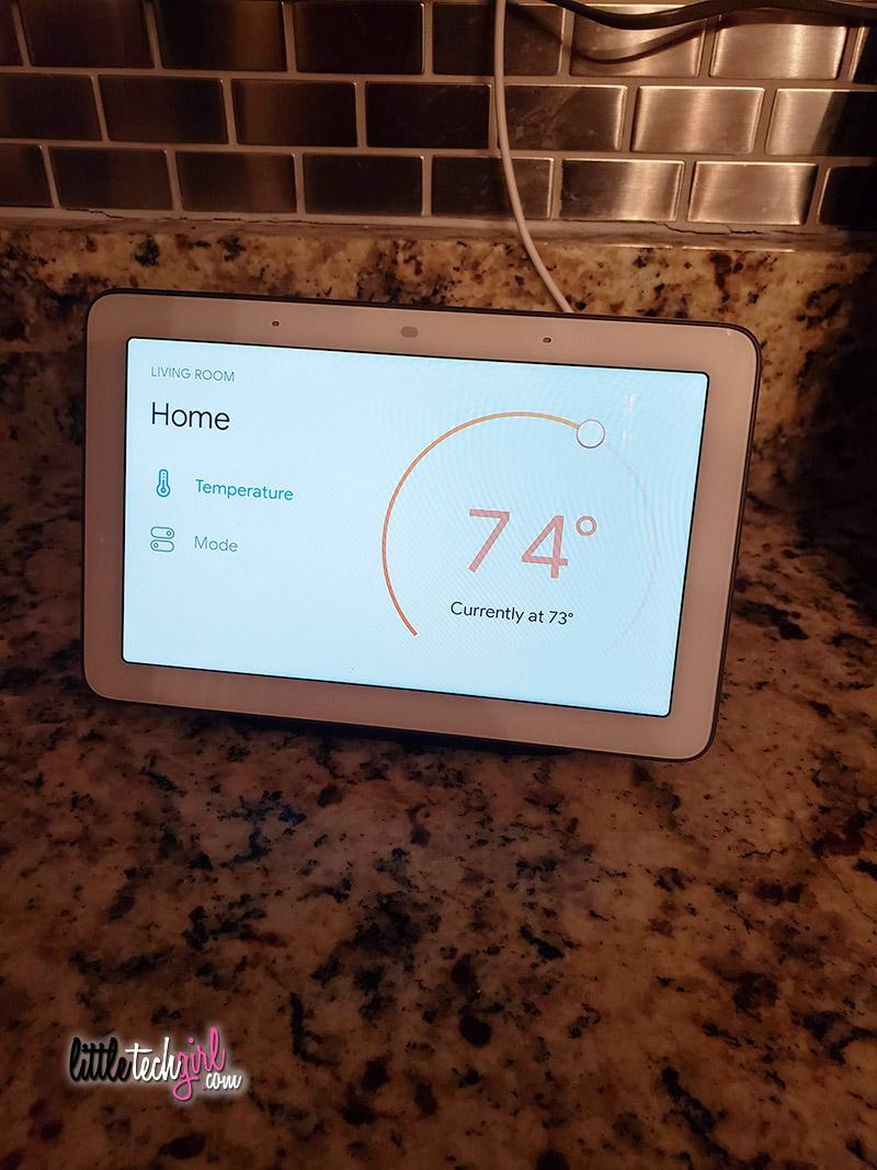 Google Home smart HVAC