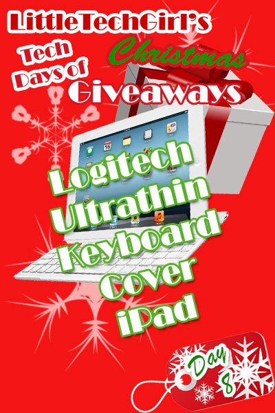 Tech Days of Christmas Giveaways: Logitech Ultrathin Keyboard Cover for iPad