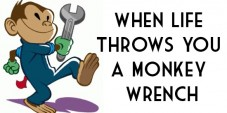 When Life Throws You a Monkey Wrench