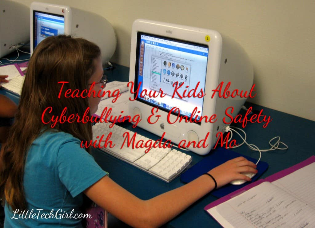Teaching Your Kids About Cyberbullying & Online Safety with Magda and Mo