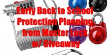 Early Back to School Protection Planning from Master Lock w/ Giveaway #LSSS