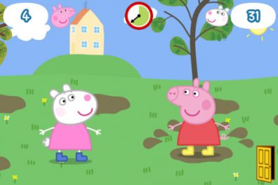 Peppa Pig Happy Mrs. Chicken App Review