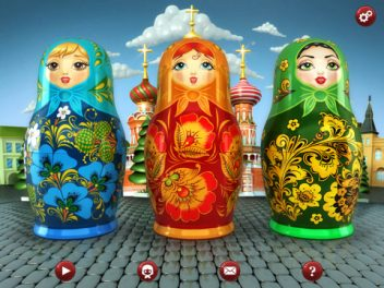 IPad App Review + Giveaway: My Russian Dolls