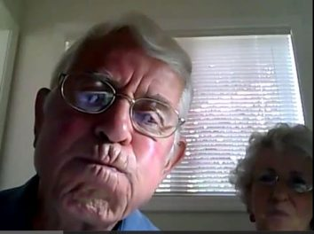 OMG I Love This!! Elderly Couple Learns Webcam