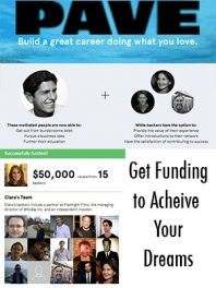 Entrepreneurs Use Pave to Get Funding to Achieve Your Dreams