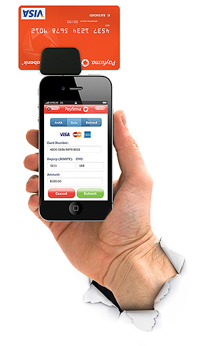 Payfirma Releases Mobile Payment App for iPhone