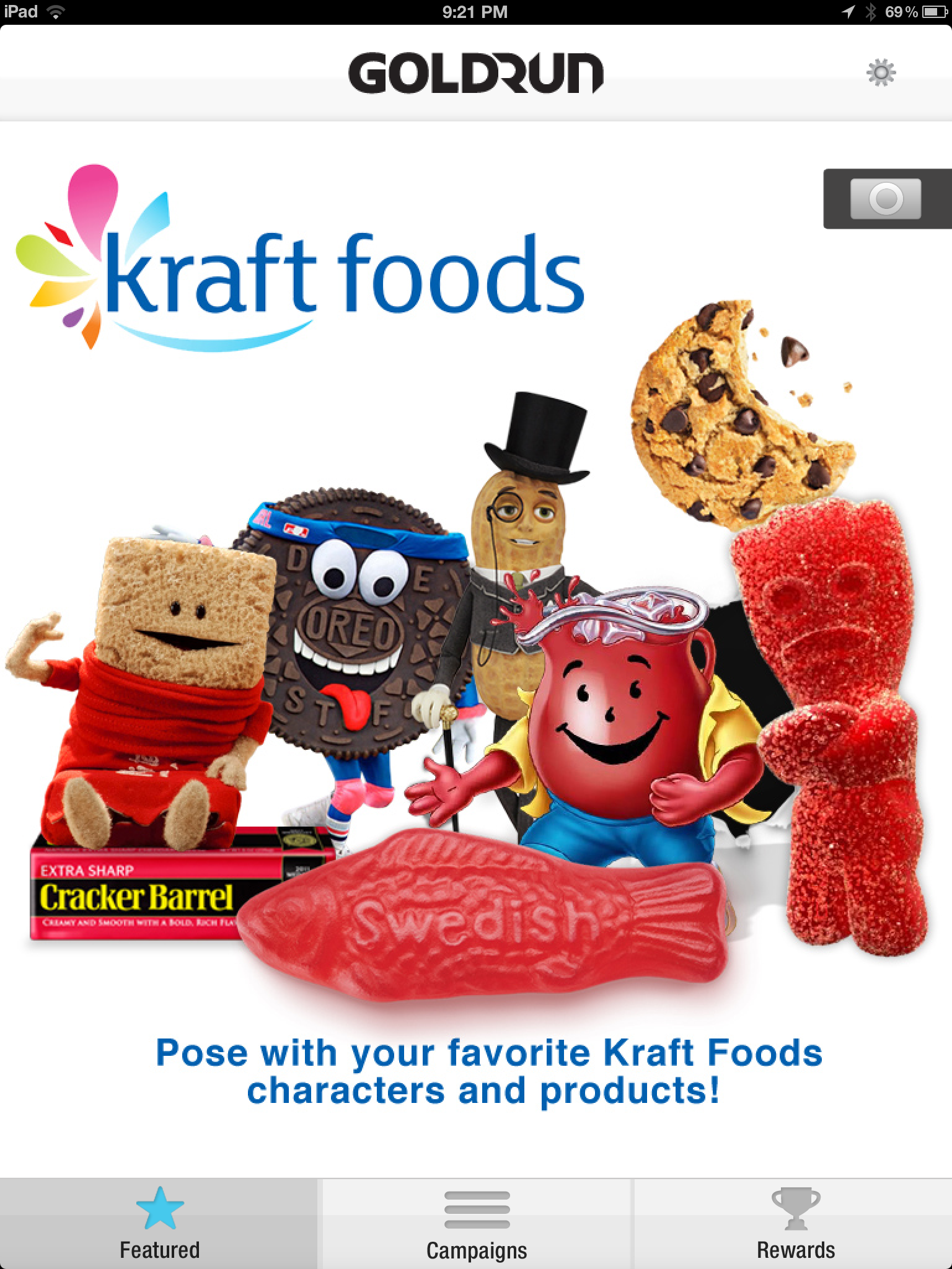 Kraft Photo Booth App for iPad Review
