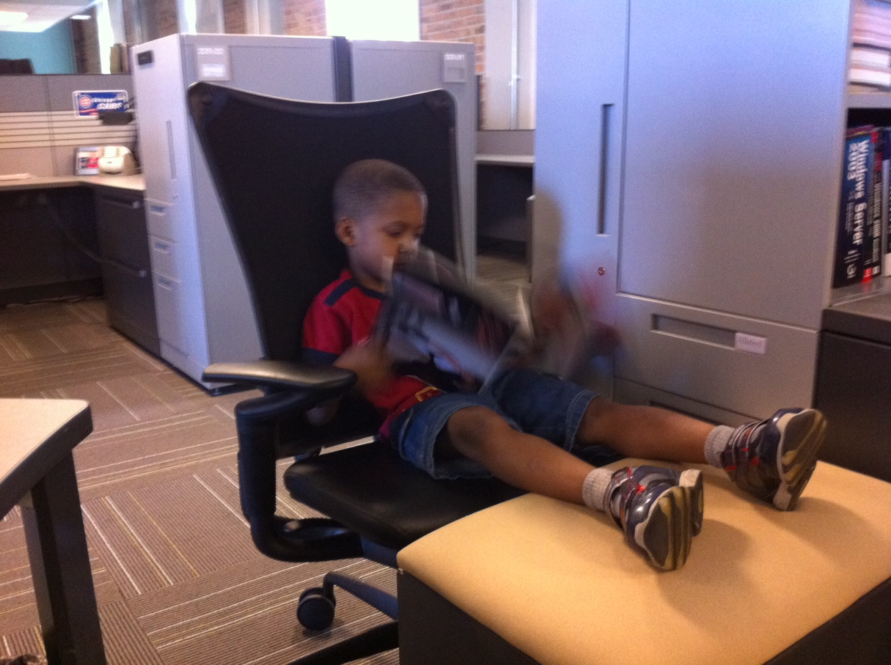 The Lone Ranger – Chillin' at Mommy's Job