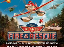 Disney's Planes Fire and Rescue Now Available on Blu-Ray & Digital HD