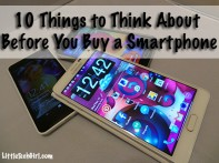 10 Things to Think About Before You Buy a Smartphone