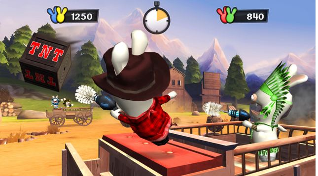 Raving Rabbids Travel in Time for Wii Review