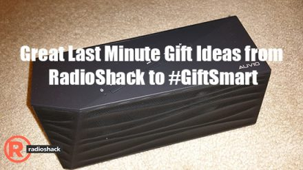 Great Last Minute Gift Ideas from RadioShack to #GiftSmart