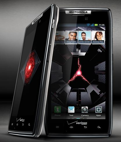 The Winner of the Motorola Droid Razr from Verizon Wireless is….