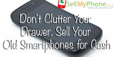 Don't Clutter Your Drawer. Sell Your Old Smartphones for Cash