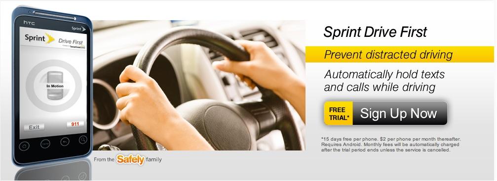 sprint drive first