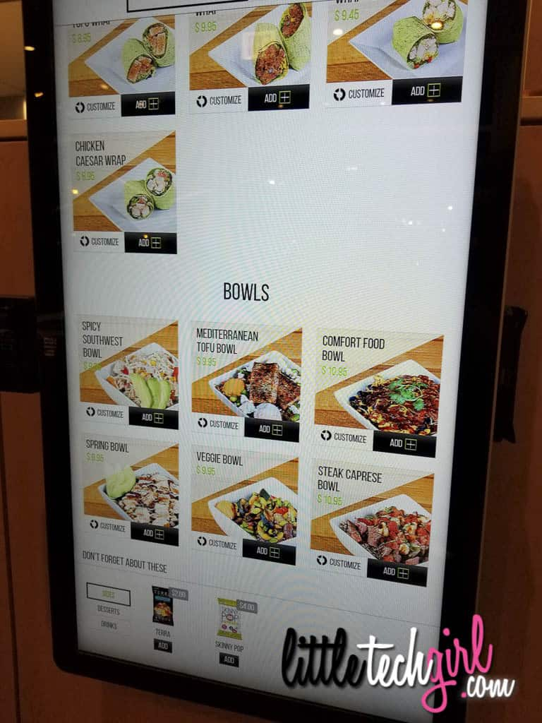 Square Roots Kitchen Preview - Order Kiosks