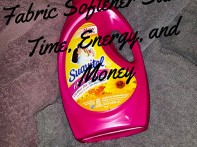 Suavitel Fast Dry Fabric Softener Saves Time, Energy, and Money