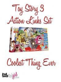 Toy Story 3 Action Links Set = Coolest Thing Ever