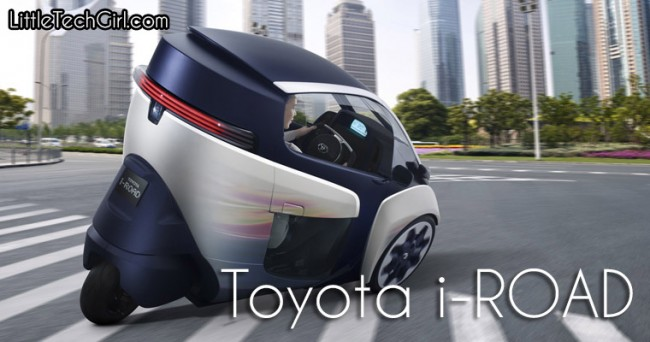 The Toyota i-ROAD: The Car of the Future