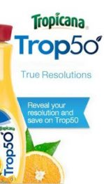 Trop50 Wants to Know Your Real Resolutions