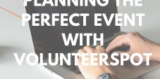 Planning the Perfect Event with VolunteerSpot