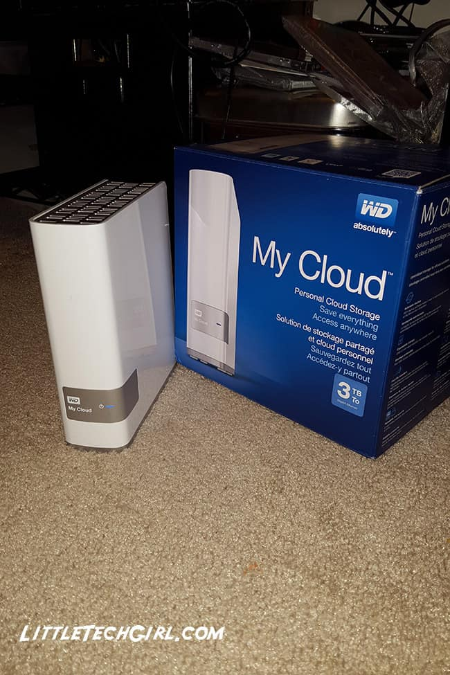 wd my cloud with box littletechgirl