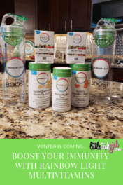 Winter is Coming… Boost Your Immunity with Rainbow Light Multivitamins
