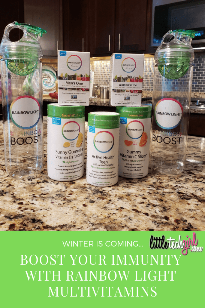 winter is coming... boost your immunity with rainbow light