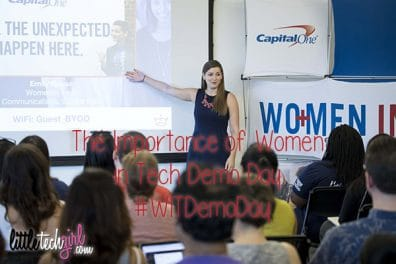 The Importance of Women in Tech Demo Days by Capital One